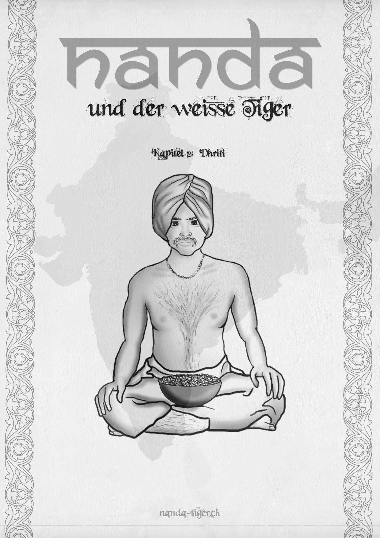 Ausmalbilder Nanda Tiger Ch